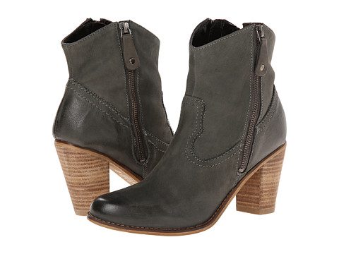 Rebels - Stomp (Grey Leather) Cowboy Boots