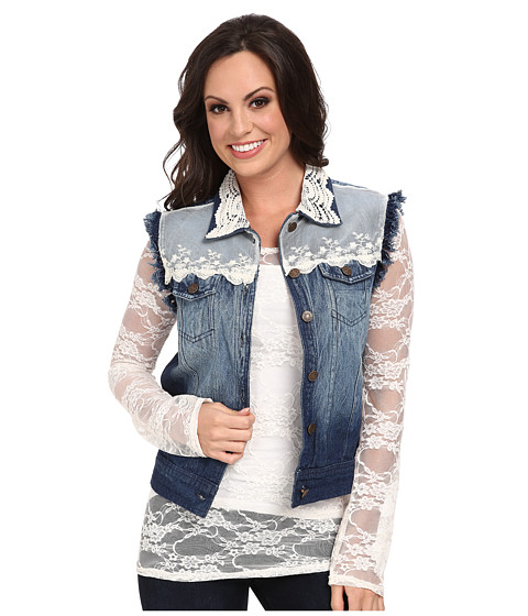 Scully - Jasmine Vest (Denim Blue) Women