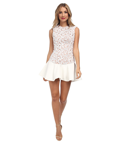 StyleStalker - Island Animal Dress (White) Women