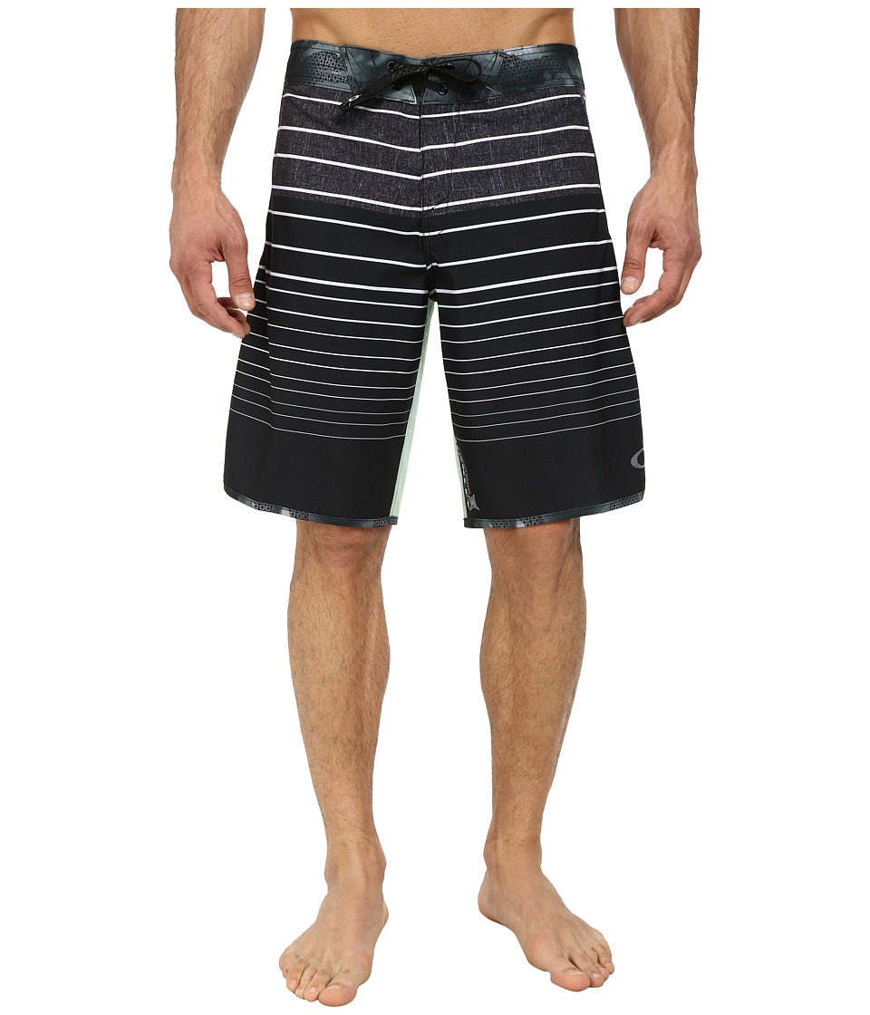 Oakley - Blade Straight-Edge Boardshort (Jet Black) Men's Swimwear