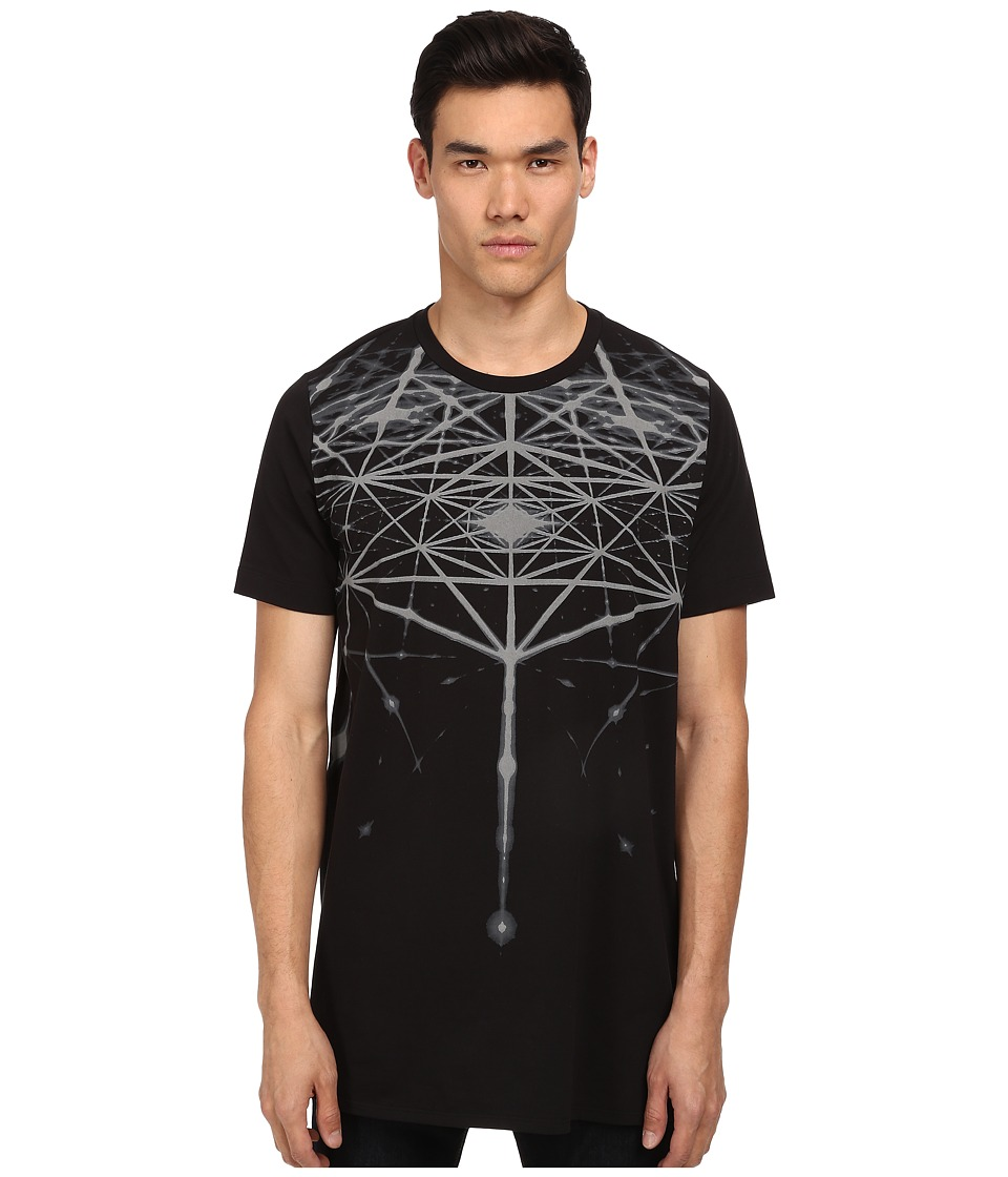 Bikkembergs - Graphic Lines Tee (Black) Men