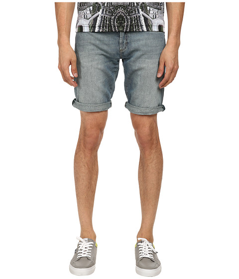Bikkembergs - Lightweight Denim Short (Blue) Men's Shorts