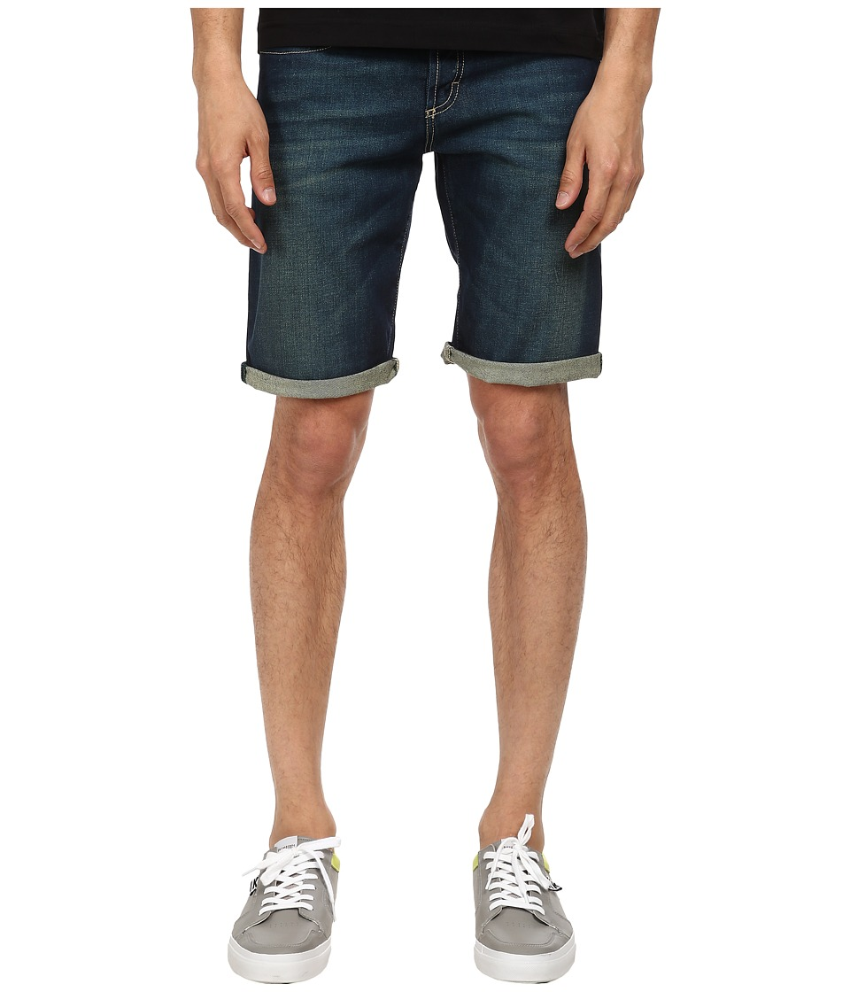 Bikkembergs - Five-Pocket Denim Shorts (Blue) Men