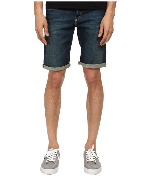 Bikkembergs - Five-Pocket Denim Shorts (Blue) Men's Shorts
