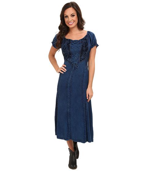 Scully - Honey Creek Ella Dress (Denim) Women's Dress
