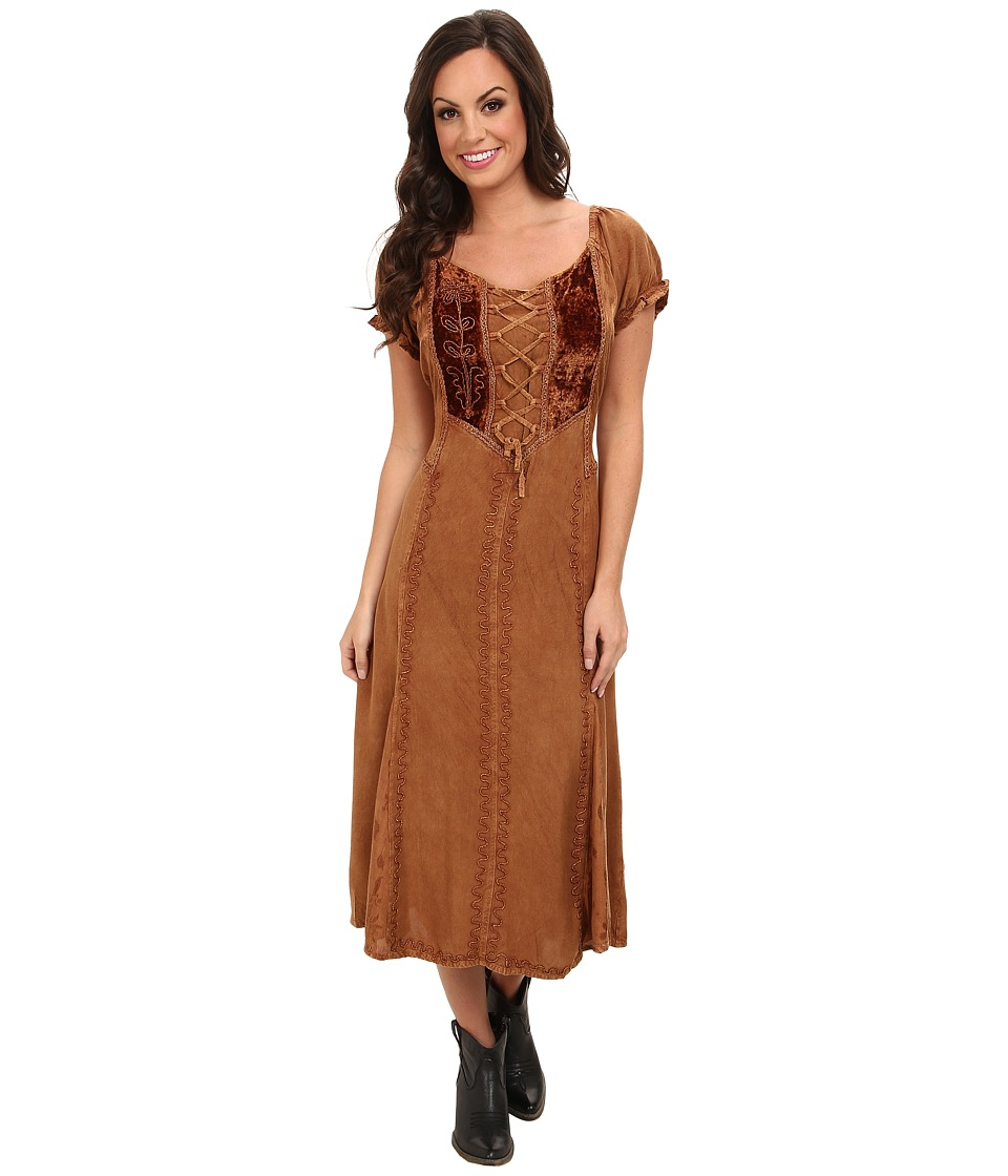 Scully - Honey Creek Ella Dress (Beige) Women's Dress