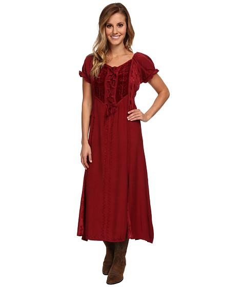 Scully - Honey Creek Ella Dress (Burgundy) Women's Dress