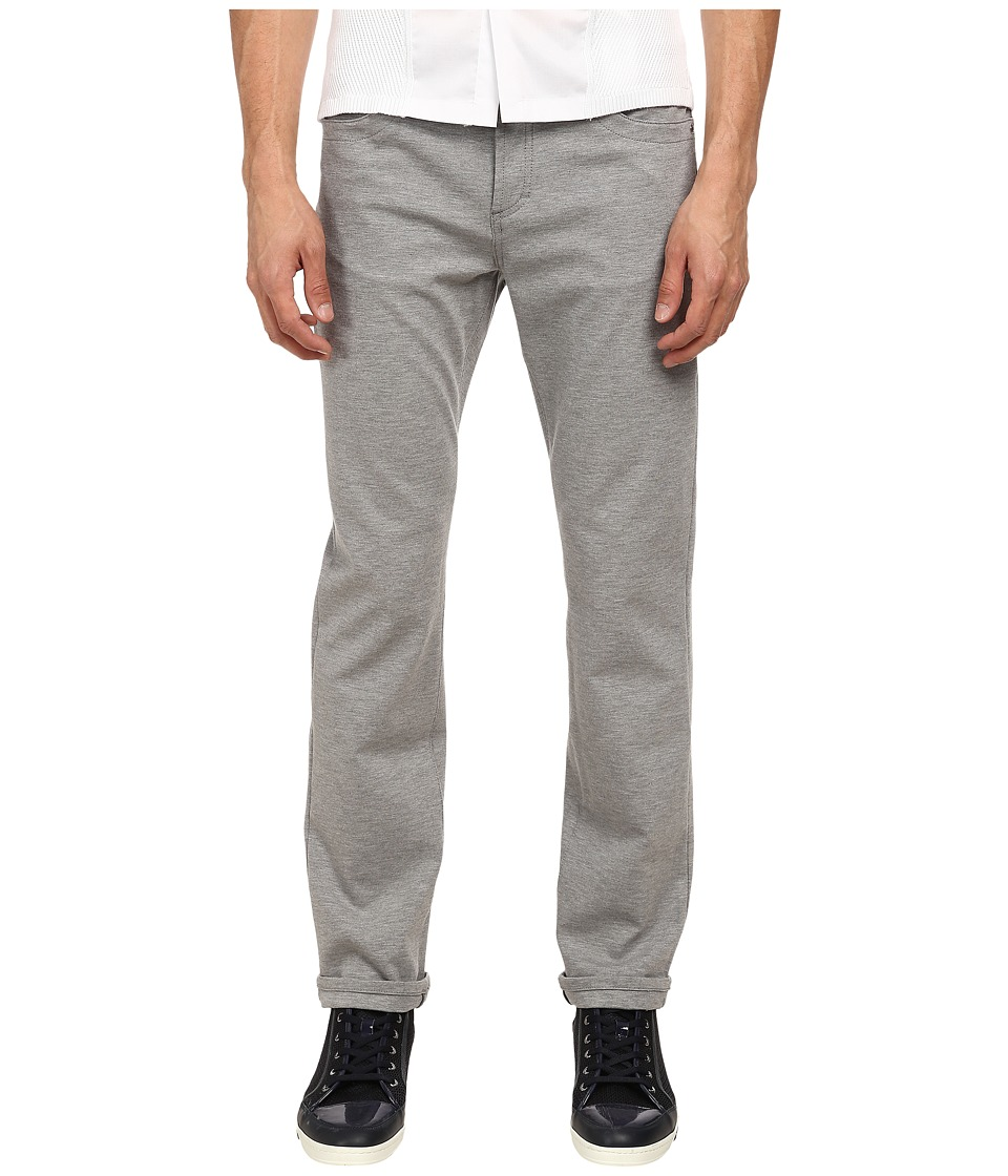 Bikkembergs - Five-Pocket Fleece Pant (Grey) Men's Casual Pants