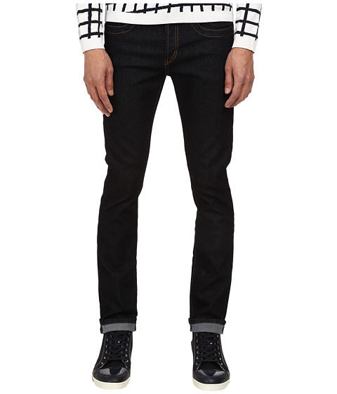 Bikkembergs - Five-Pocket Dark Wash Jean (Denim) Men