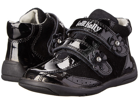 Lelli Kelly Kids - Christina (Toddler) (Black Patent) Girls Shoes