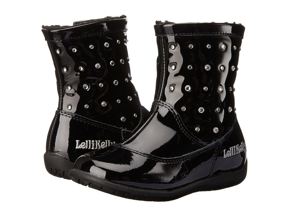 Lelli Kelly Kids - Lydia (Toddler) (Black Patent) Girls Shoes