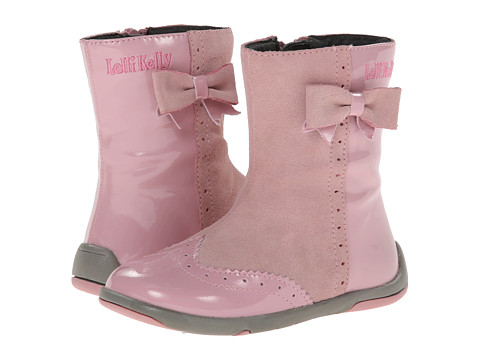 Lelli Kelly Kids - Emma (Toddler) (Pink Patent) Girls Shoes