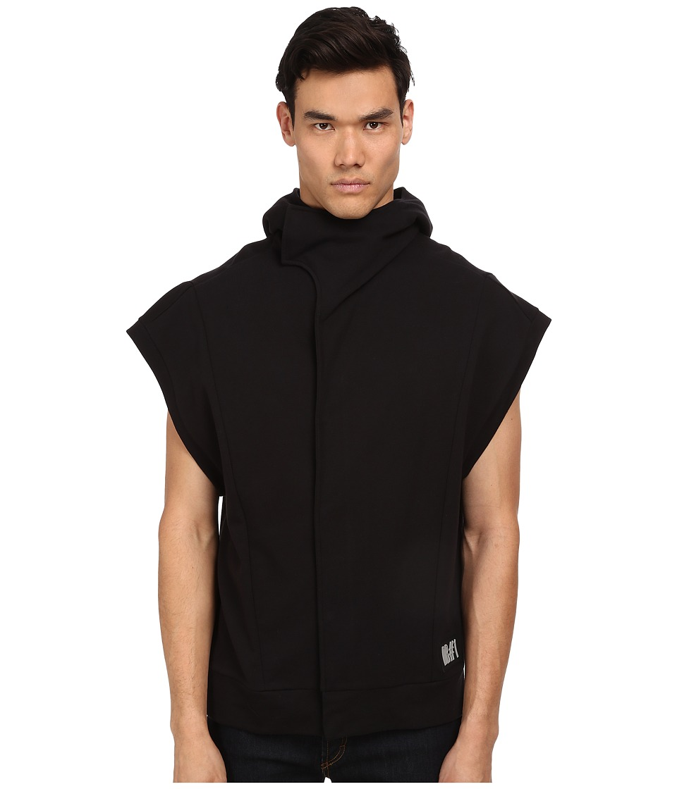 Bikkembergs - Sleeveless Fleece Sweatshirt (Black) Men's Sweatshirt