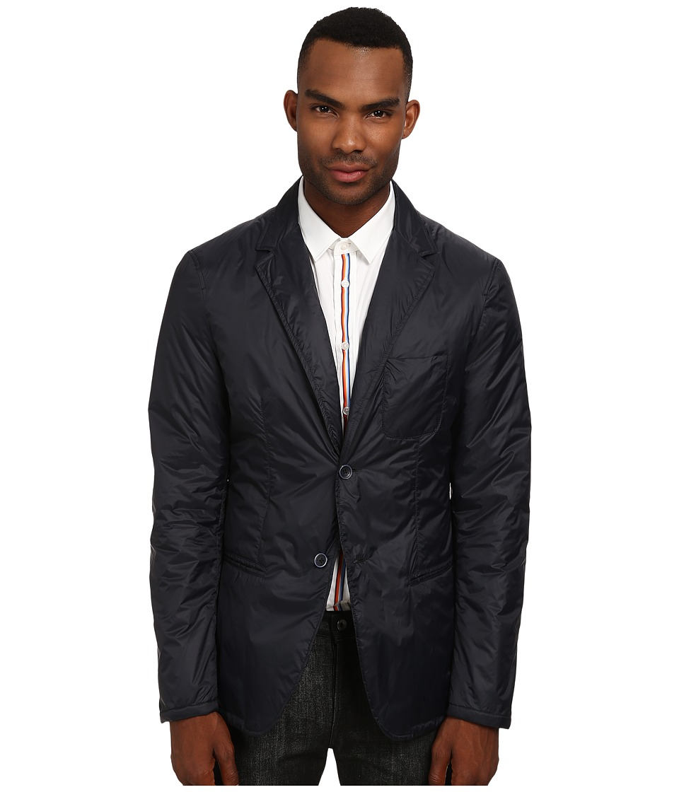 Bikkembergs - Nylon Blazer (Navy) Men's Jacket