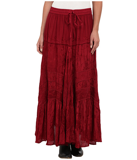 Scully - Honey Creek Jackie Skirt (Burgundy) Women