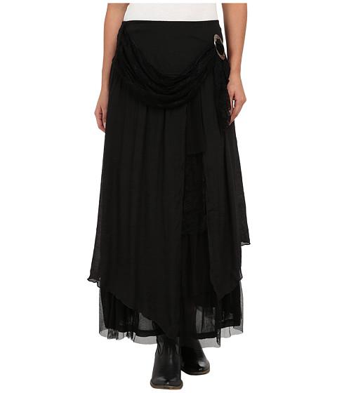 Scully - Honey Creek Bonita Flirty Skirt (Black) Women