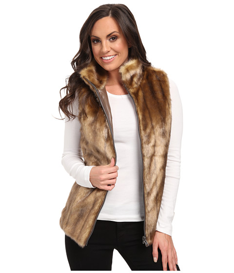 Scully - Honey Creek Reversible Faux Fur Vest (Honey) Women