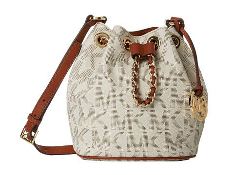 MICHAEL Michael Kors Frankie Drawstring Crossbody (Vanilla) Cross Body Handbags