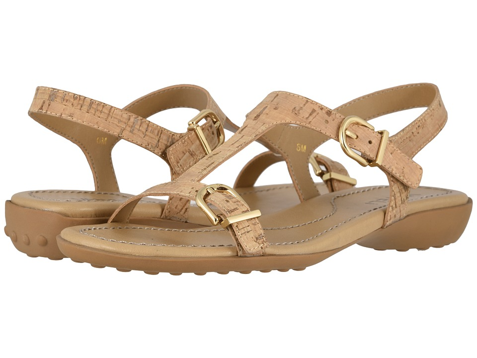 Vaneli - Taletha (Natural Cork 1) Women's Dress Sandals