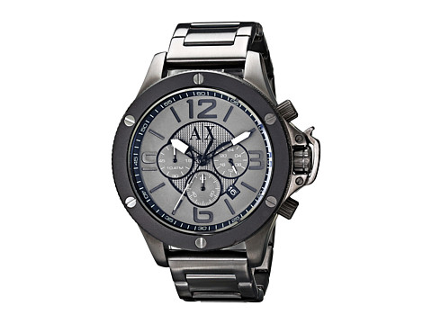 AX Armani Exchange - Well Worn (Gunmetal) Watches
