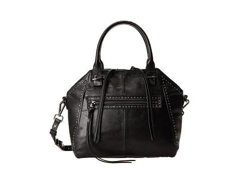 Elliott Lucca - Faro Medium Satchel (Black Studded) Satchel Handbags
