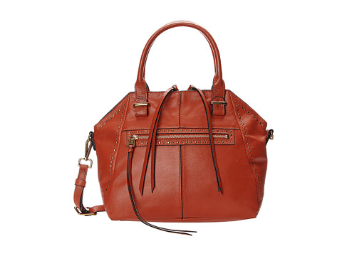 Elliott Lucca - Faro Medium Satchel (Fire Studded) Satchel Handbags