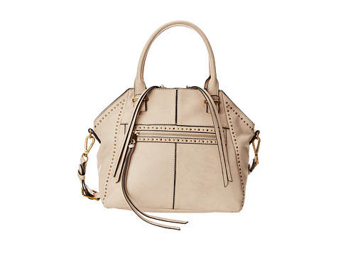 Elliott Lucca - Faro Medium Satchel (Oyster Studded) Satchel Handbags