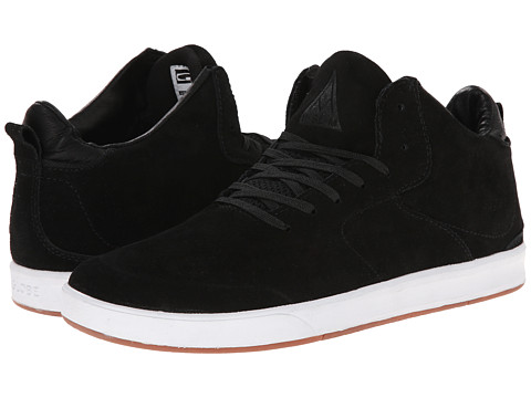 Globe - Abyss (Black/White) Men's Shoes