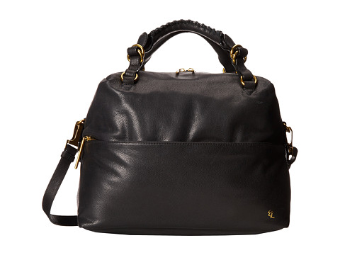 Elliott Lucca - Iara Satchel (Black) Satchel Handbags
