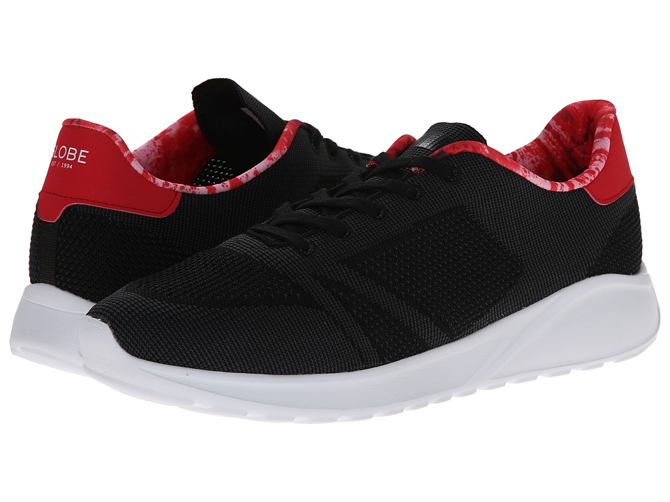 Globe - Avante (Black/Red Lava) Men's Shoes