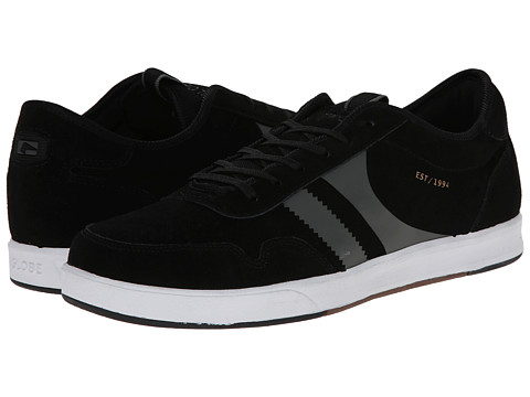 Globe - Encore Zone (Black/White) Men's Shoes