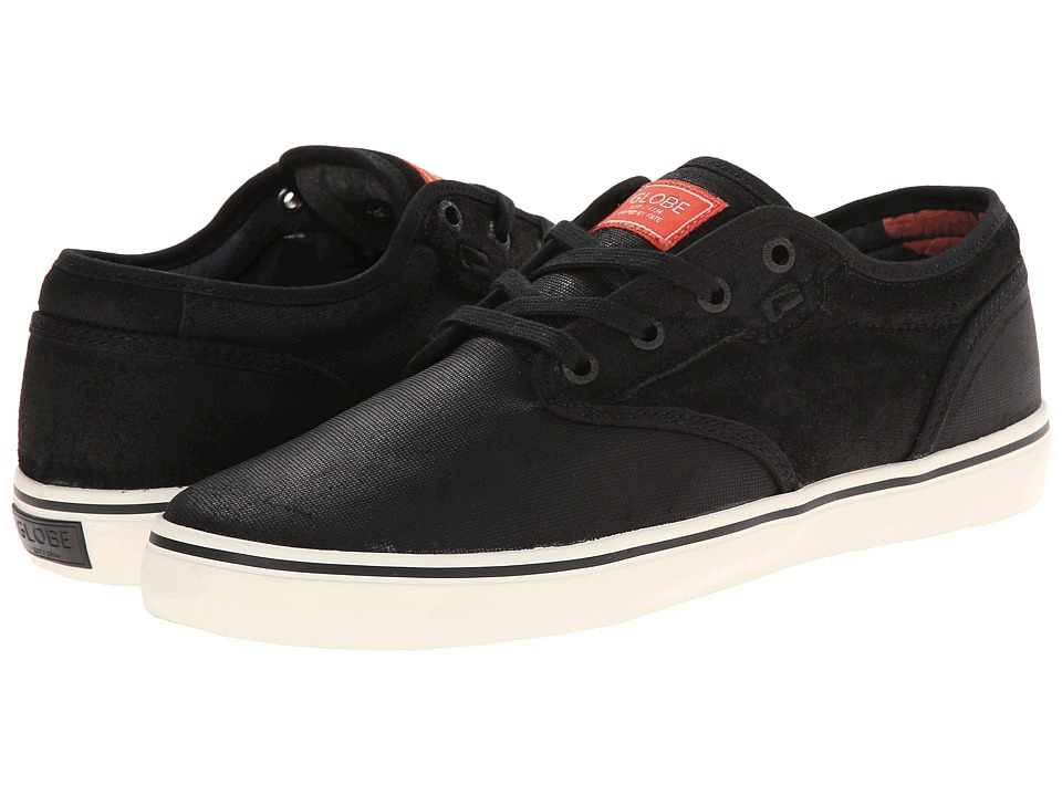 Globe - Motley (Black/Hibiscus) Men's Skate Shoes