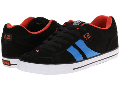 Globe - Encore (Black/Blue) Men's Skate Shoes