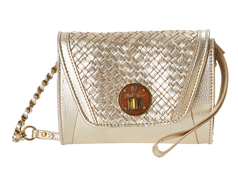 Elliott Lucca - Cordoba Envelope Smartphone Crossbody (Gold) Cross Body Handbags