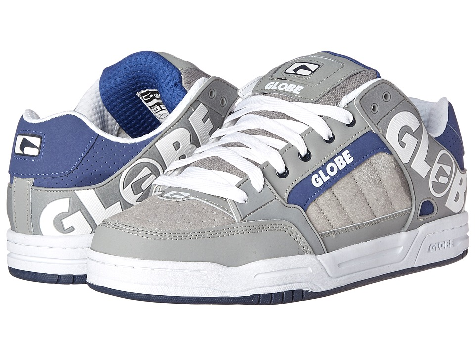 Globe - Tilt (Grey/Blue) Men's Skate Shoes