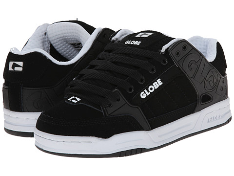 Globe - Tilt (Black/White) Men's Skate Shoes