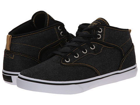 Globe - Motley Mid (Black Denim/Curry) Men