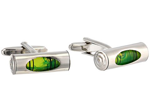 Cufflinks Inc. - Level Cufflinks (Green) Cuff Links