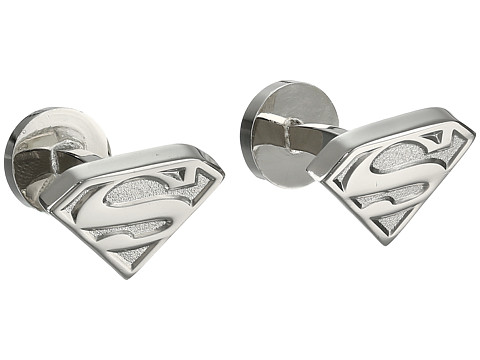 Cufflinks Inc. - Silver Superman Shield Cufflinks (Silver) Cuff Links