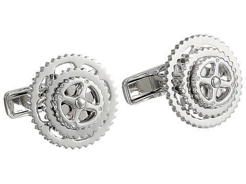 Cufflinks Inc. - Cyclist Cufflinks (Silver) Cuff Links