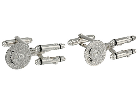 Cufflinks Inc. - Star Trek Starship Enterprise Cufflinks (Silver) Cuff Links