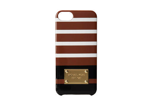 MICHAEL Michael Kors - Electronics Phone Cover (Luggage Multi) Cell Phone Case