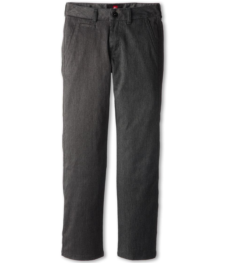 Quiksilver Kids - Union Pant (Big Kids) (Grey Heather) Boy's Casual Pants