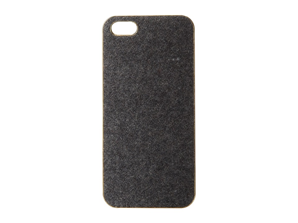 Scotch & Soda - Wooly iPhone 5 Hardcover Case (Grey Melange) Cell Phone Case