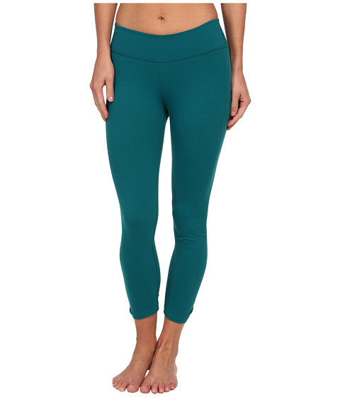 Beyond Yoga - Back Gather Legging (Pineneedle) Women's Workout