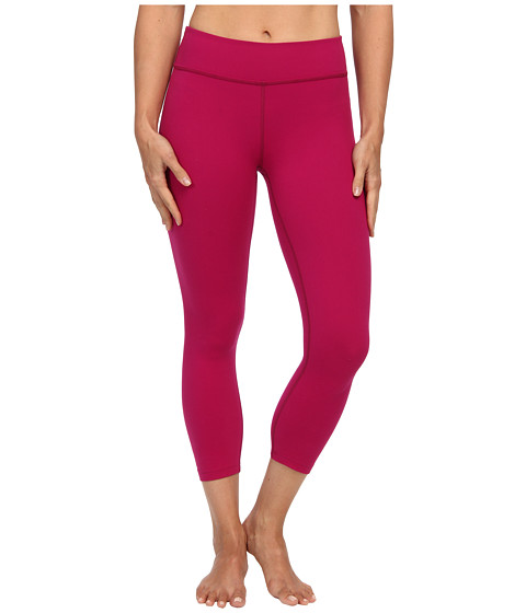 Beyond Yoga - Back Gather Legging (Sangria) Women's Workout