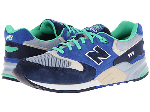 New Balance Classics - ML999 (Blue/Grey SP15) Men's Classic Shoes