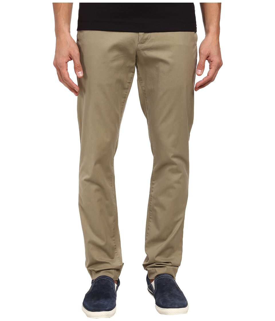 Michael Kors - Leather Piped Chino (Sorrel) Men's Casual Pants