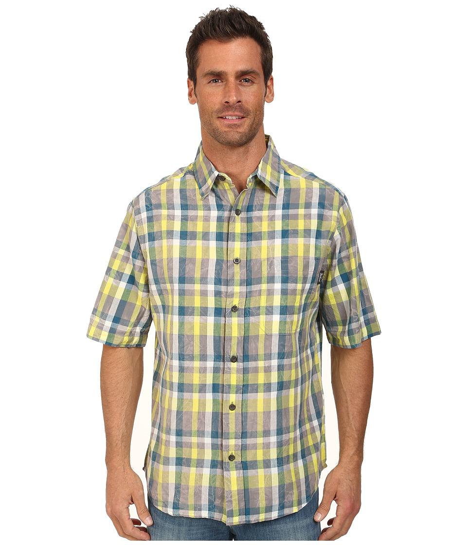 Woolrich - Red Creek S/S Shirt (Lemongrass) Men's Short Sleeve Button Up