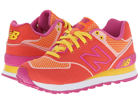 New Balance Classics - WL574 (Papaya) Women's Lace up casual Shoes